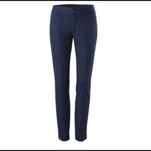 CAbi 0 Navy Blue Capote Trouser Pants